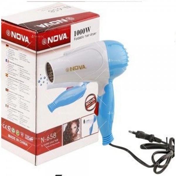 Сгъваем сешоар NOVA, модел N-658 - 1000 W TV445 3