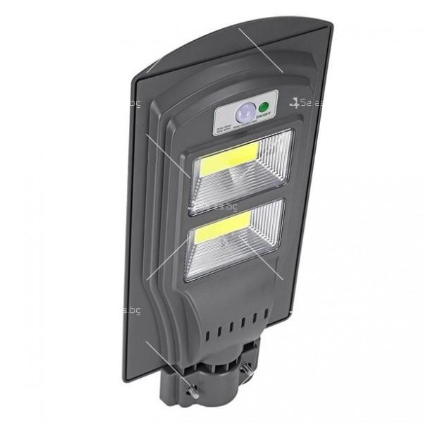 Соларна водоустойчива LED лампа за открито 40/60W H LED19 15