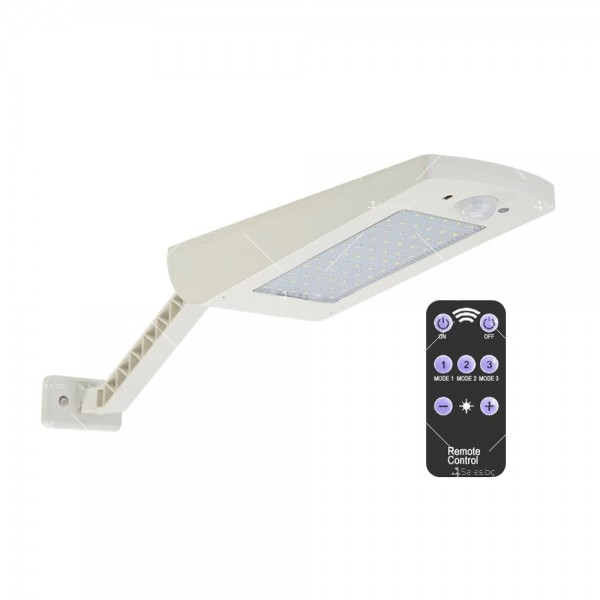 Соларна LED лампа с дистанционно и сензор за движение H LED 21
