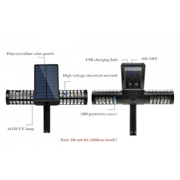 Соларна лампа против комари TV535 10