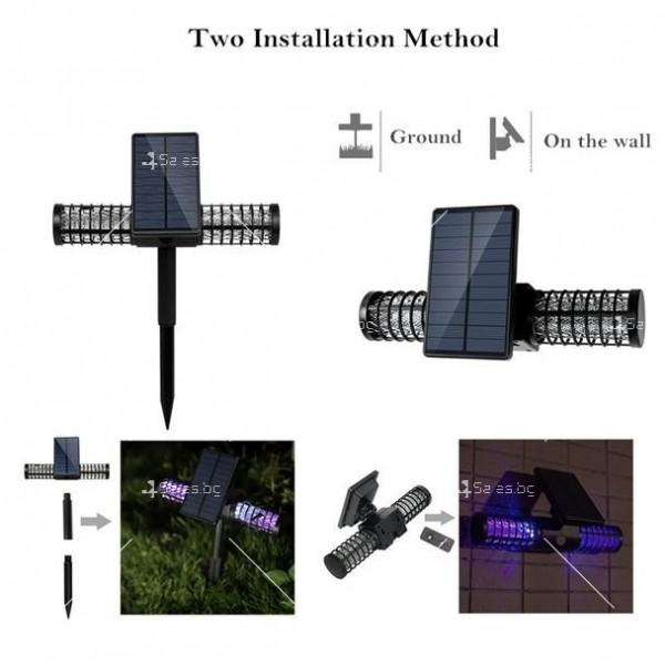 Соларна лампа против комари TV535 12