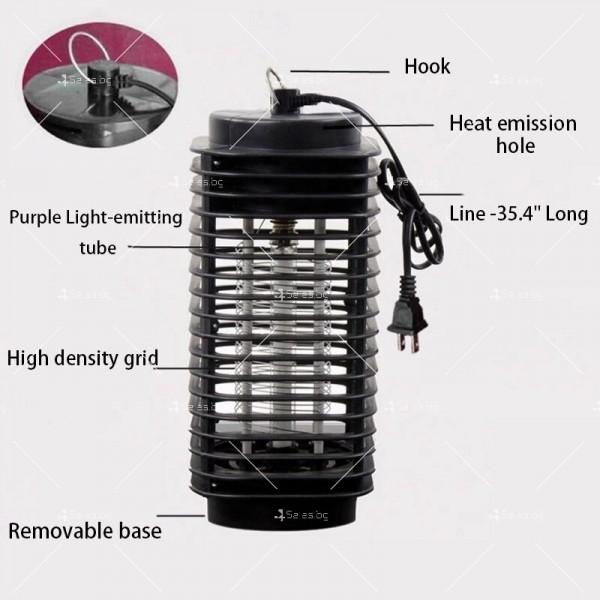 Компактна лампа против комари 4