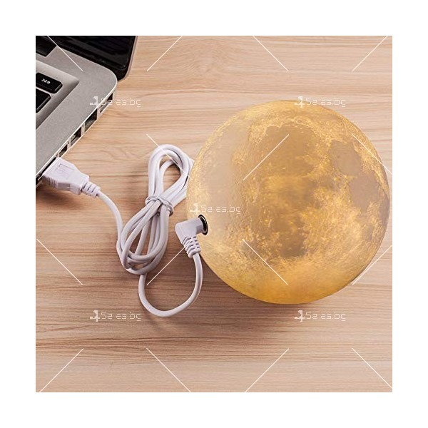LED 3D лампа-луна с дистанционно управление TV848 2