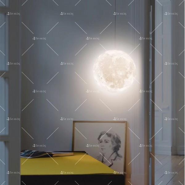 LED 3D лампа-луна с дистанционно управление TV848 8