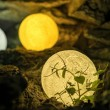 LED 3D лампа-луна с дистанционно управление TV848 12