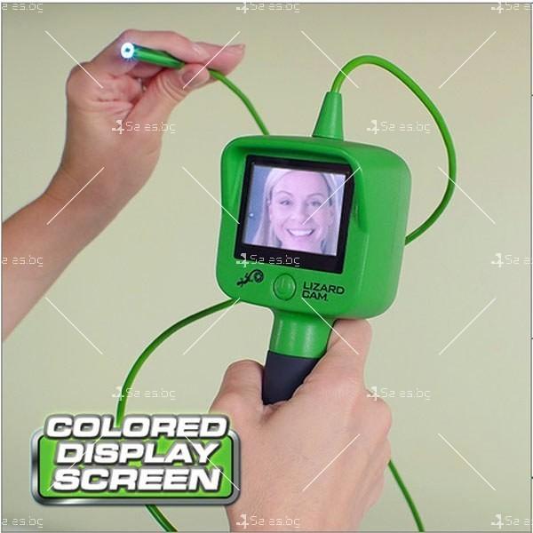 Водоустойчив ендоскоп-мини камера за инспекция с цветен LCD екран IP29 7
