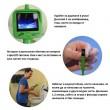 Водоустойчив ендоскоп-мини камера за инспекция с цветен LCD екран IP29 8
