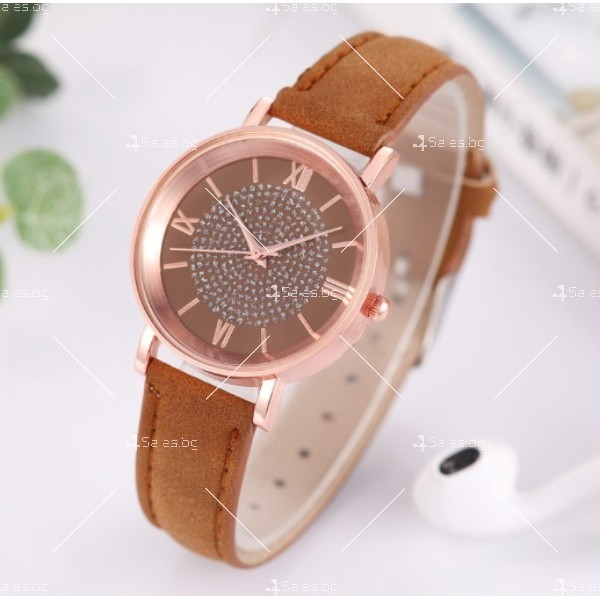Класически дамски часовник в минималистичен стил W WATCH5 4
