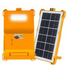 Соларна батерия Power bank с четири функции за външно осветление.