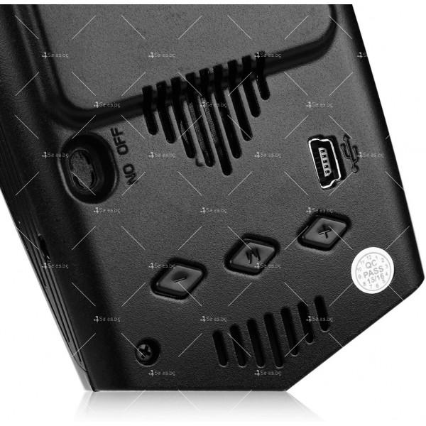 """Компактен радар детектор за автомобил """"Radar Plus"""" с гласов сигнал AC86 2"""