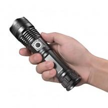 Ултрамощен LED фенер с индикация за нивото на батерията FL81