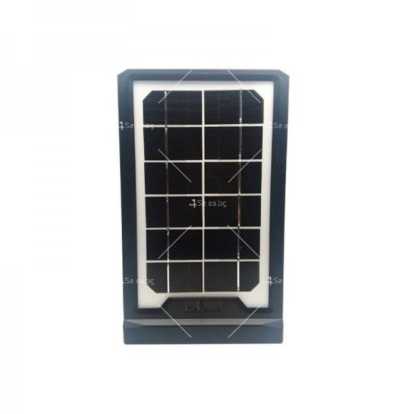Соларна батерия Power bank с три LED крушки и мултифункционален кабел 7