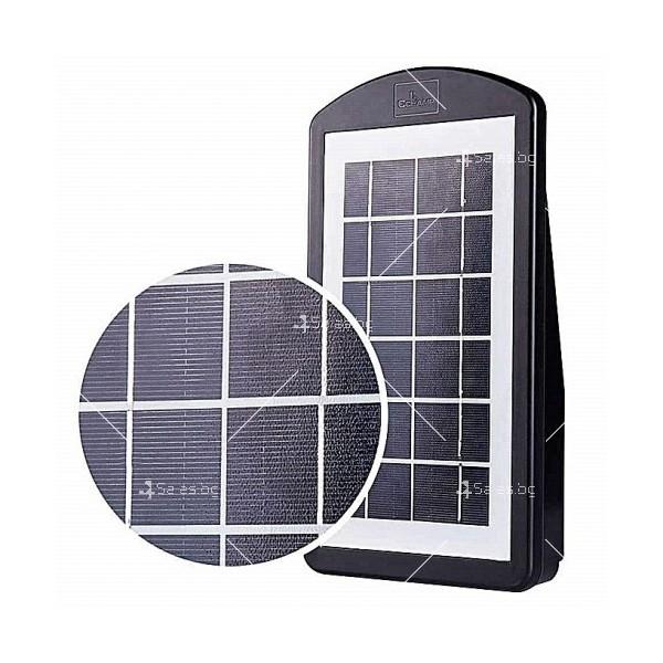 Соларна водоустойчива LED лампа за открито 30W 2