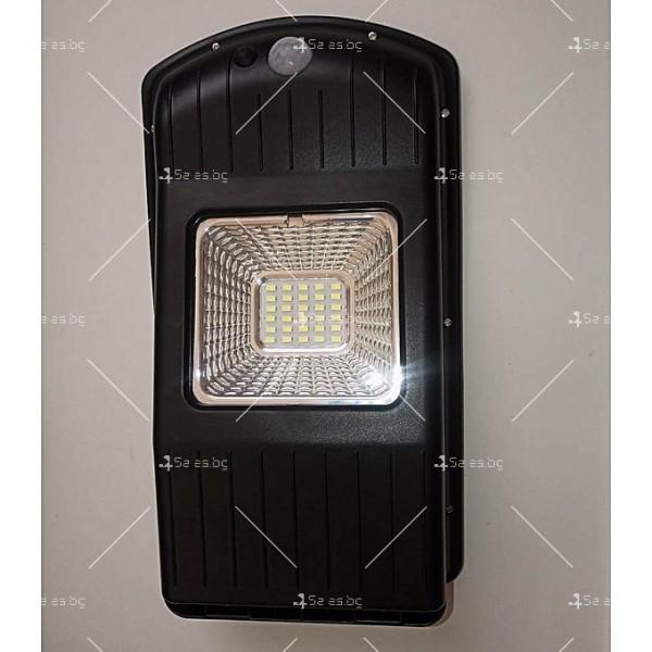 Соларна водоустойчива LED лампа за открито 30W 4