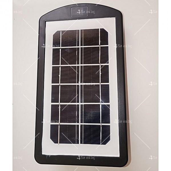 Соларна водоустойчива LED лампа за открито 30W 5