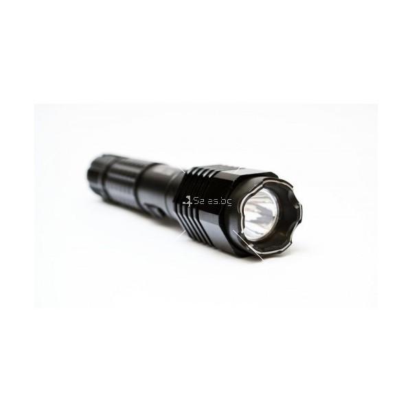 Алуминиев LED фенер две в едно с вграден електрошок 3