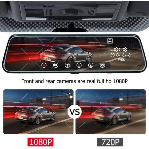 Видеорегистратор-огледало с камера за задно виждане модел V1 – AC85 8