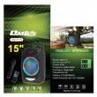 """Караоке тонколона OM&S 15"""" с акумулатор, микрофон, Bluetooth и светлини 8"""