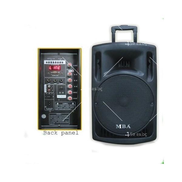 MBA Караоке колони F12 и F15 с Bluetooth, USB, SD, FM 3