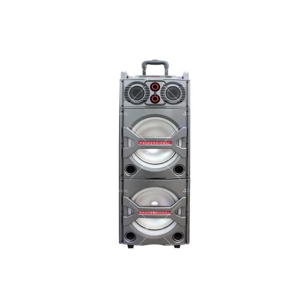 """Двойна BOSE 4000W 2x12""""+DJ пулт мощни активни караоке тонколони 2 микрофона"""