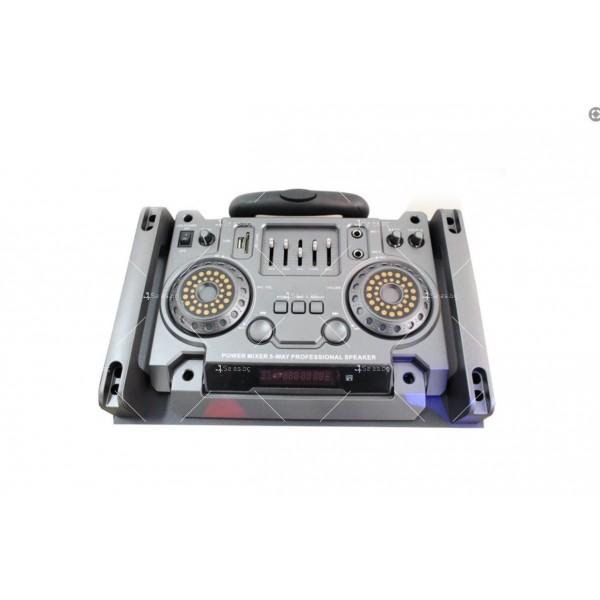 """Двойна BOSE 4000W 2x12""""+DJ пулт мощни активни караоке тонколони 2 микрофона 2"""