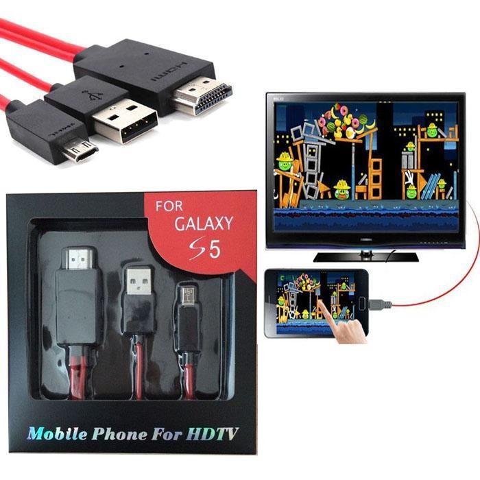 SM-18 Адаптер от смартфон към HDTV CA98 9