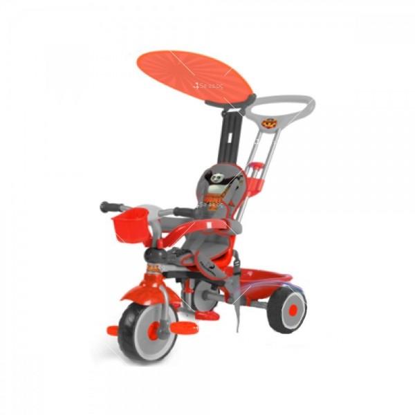 Детска триколка със стопер за педали Joy Auto 2
