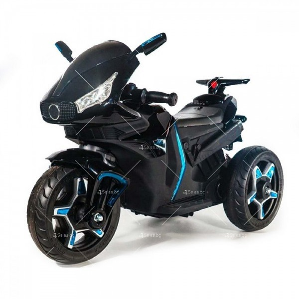 Акумулаторен мотор Shadow 12V с меки гуми и кожена седалка 3