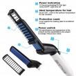 Електрическа четка с керамична плоча за изправяне на коса и брада TV538 3