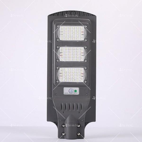 Икономично соларно улично LED осветление със сензор за движение H LED18 4