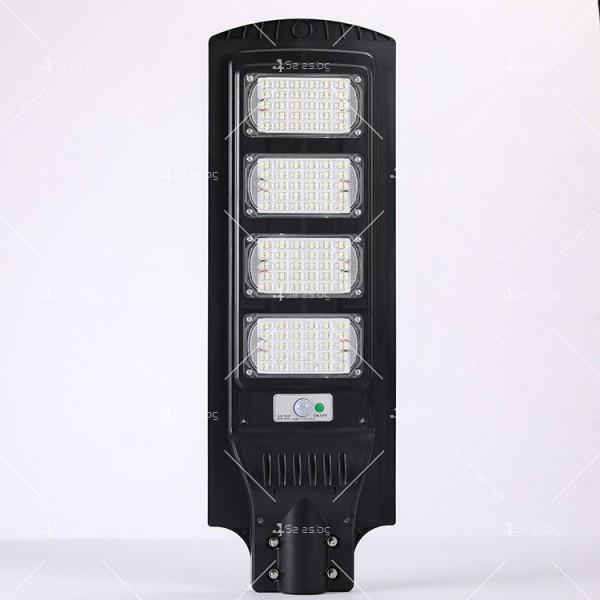 Икономично соларно улично LED осветление със сензор за движение H LED18 5