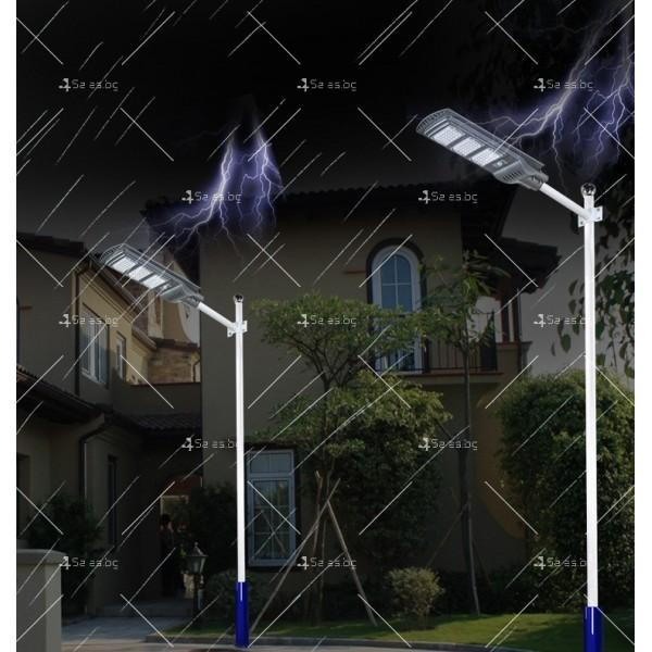 Икономично соларно улично LED осветление със сензор за движение H LED18 10