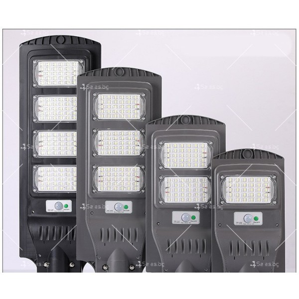 Икономично соларно улично LED осветление със сензор за движение H LED18 1