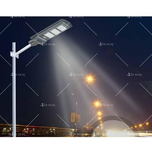 Икономично соларно улично LED осветление със сензор за движение H LED18 13