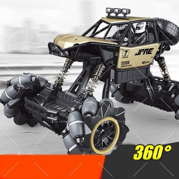 Детски автомобил 4 х 4 с дистанционно управление Rock Crawler RC Toy Car 22 2