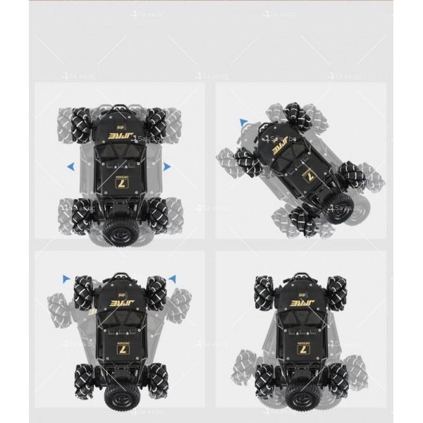 Детски автомобил 4 х 4 с дистанционно управление Rock Crawler RC Toy Car 22 3
