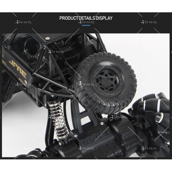 Детски автомобил 4 х 4 с дистанционно управление Rock Crawler RC Toy Car 22 7