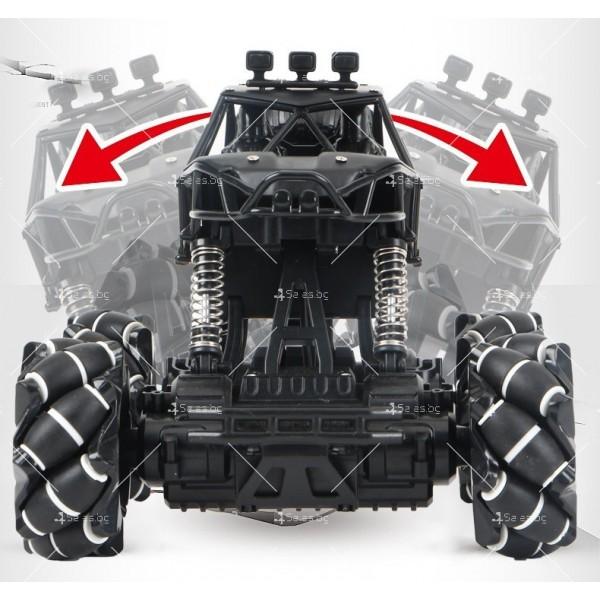 Детски автомобил 4 х 4 с дистанционно управление Rock Crawler RC Toy Car 22 8