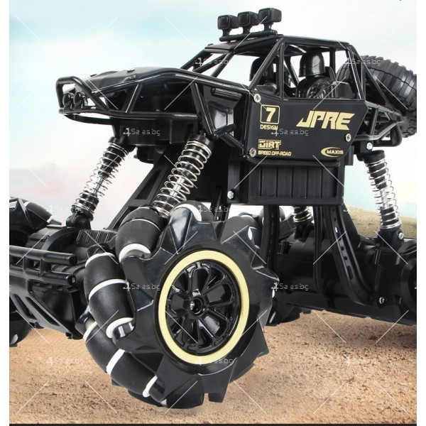Детски автомобил 4 х 4 с дистанционно управление Rock Crawler RC Toy Car 22 9