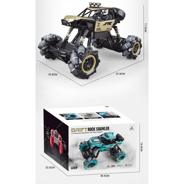 Детски автомобил 4 х 4 с дистанционно управление Rock Crawler RC Toy Car 22 11