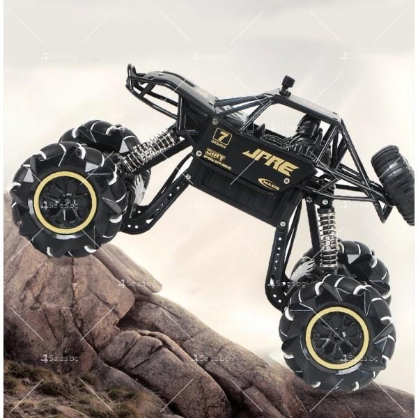 Детски автомобил 4 х 4 с дистанционно управление Rock Crawler RC Toy Car 22 12