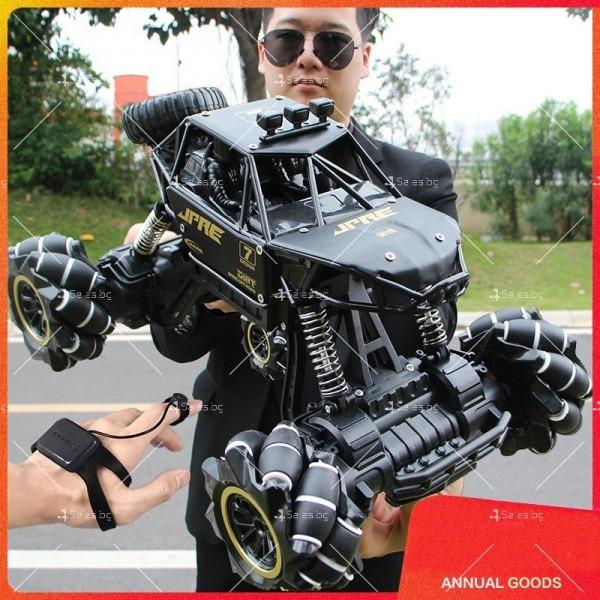 Детски автомобил 4 х 4 с дистанционно управление Rock Crawler RC Toy Car 22 15