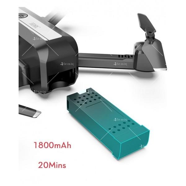 Сгъваем дрон с двойна камера и видео в реално време 4K HD - Dron H20 (4K) 4