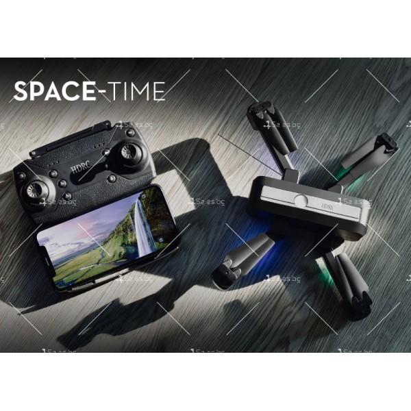 Сгъваем дрон с двойна камера и видео в реално време 4K HD - Dron H20 (4K) 5