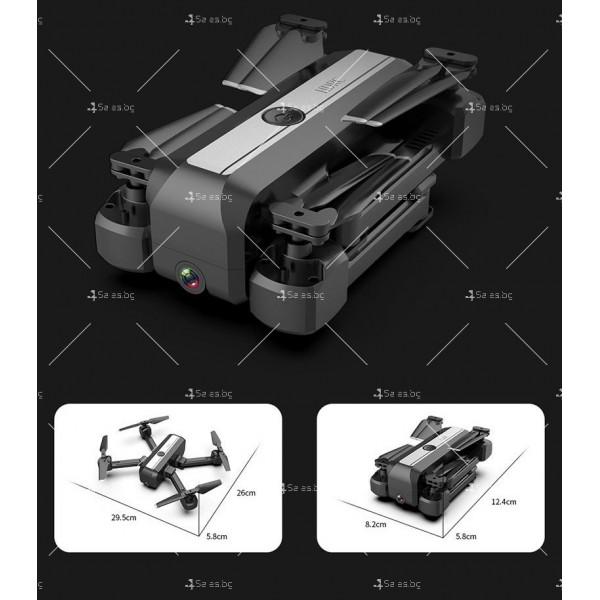 Сгъваем дрон с двойна камера и видео в реално време 4K HD - Dron H20 (4K) 6