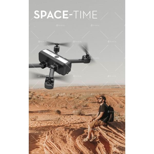 Сгъваем дрон с двойна камера и видео в реално време 4K HD - Dron H20 (4K) 8