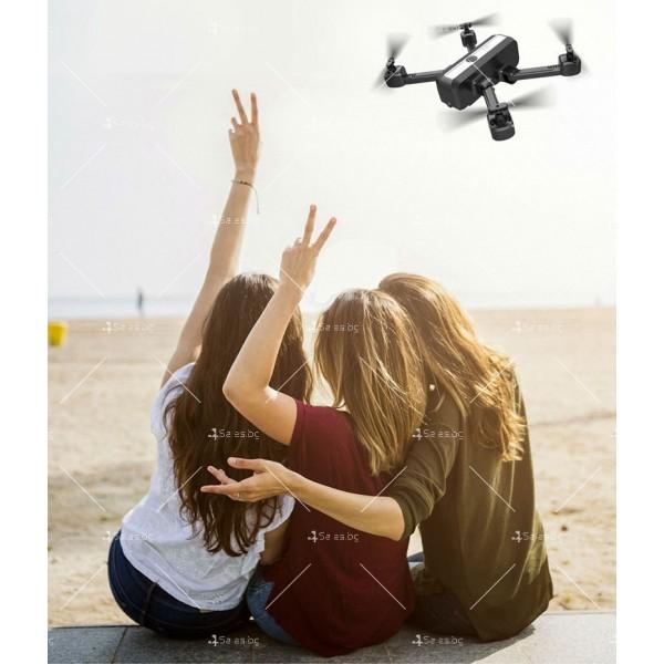 Сгъваем дрон с двойна камера и видео в реално време 4K HD - Dron H20 (4K) 13