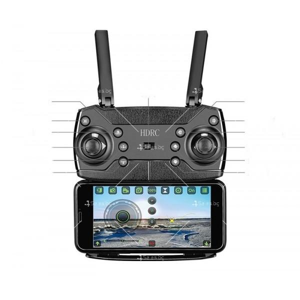 Сгъваем дрон с двойна камера и видео в реално време 4K HD - Dron H20 (4K) 15