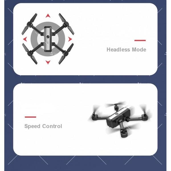 Сгъваем дрон с двойна камера и видео в реално време 4K HD - Dron H20 (4K) 16