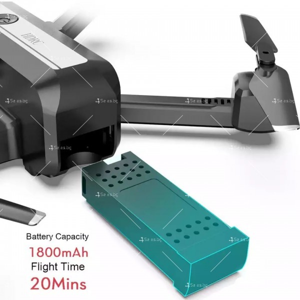 Сгъваем дрон с двойна камера и видео в реално време 4K HD - Dron H20 (4K) 17